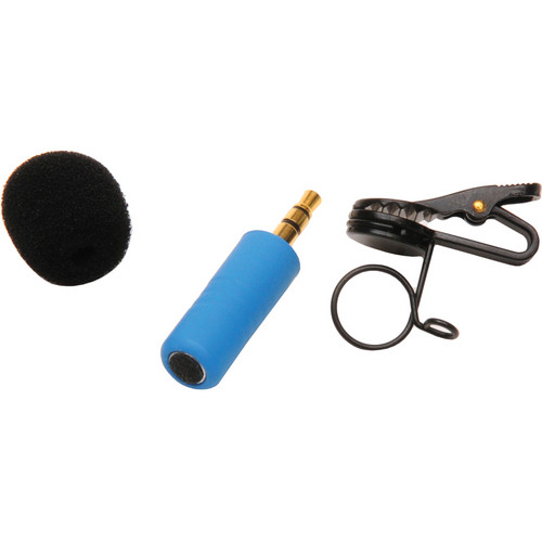 Microphone Madness MM-TMM-2 Tiny Mono Omni-Directional Microphone (Blue)