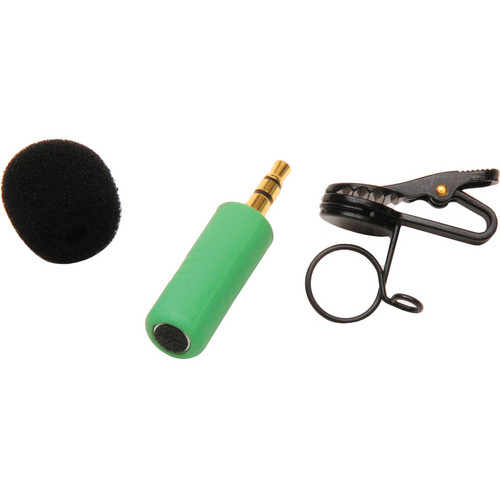 Microphone Madness MM-TMM-2 Tiny Mono Omni-Directional Microphone (Green)