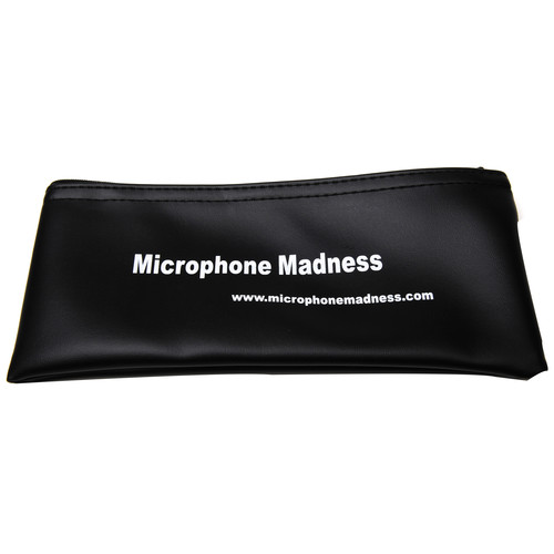 Microphone Madness Microphone Zipper Case