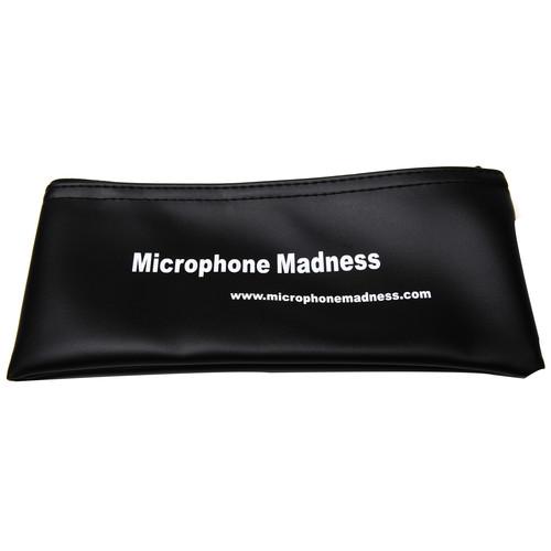 Microphone Madness Microphone Zipper Case