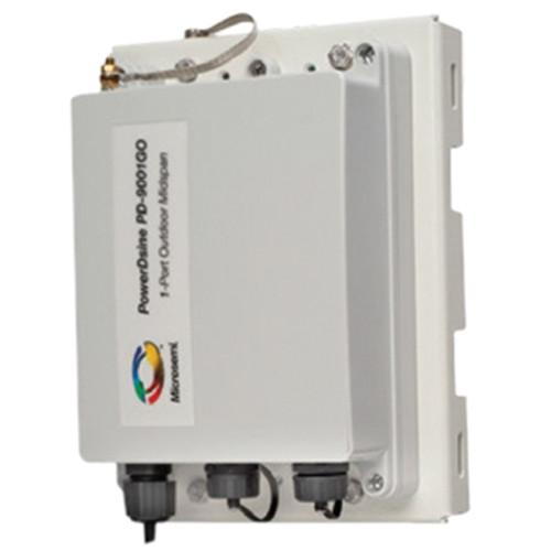 Microsemi PD-9002GHO Dual-Port Outdoor PoE Passive Hub (30W)