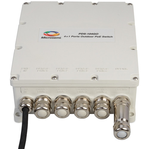 Microsemi 4+1 Outdoor PoE Switch