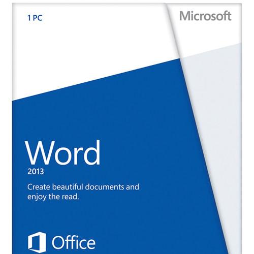Microsoft Word 2013 32-Bit/X64 DVD