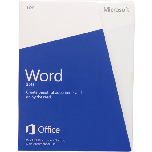 Microsoft Word 2013 (Product Key) (Non-Commercial)