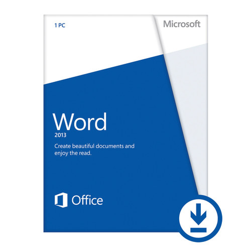 Microsoft Word 2013 (Open License Download)