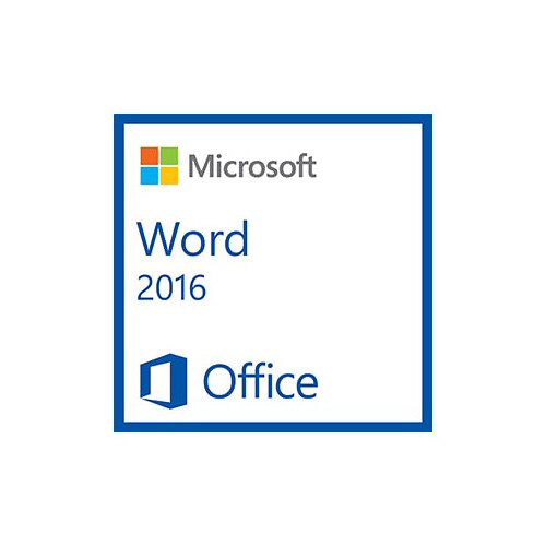 Microsoft Word 2016 (1 PC License, Electronic Download)
