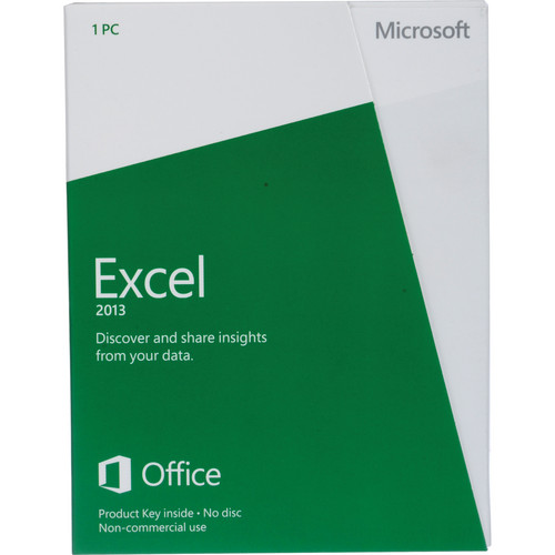 Microsoft Excel 2013 (Product Key) (Non-Commercial)