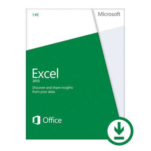 Microsoft Excel 2013 (Open License Download)