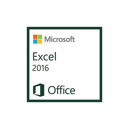 Microsoft Excel 2016 (1 PC License, Electronic Download)