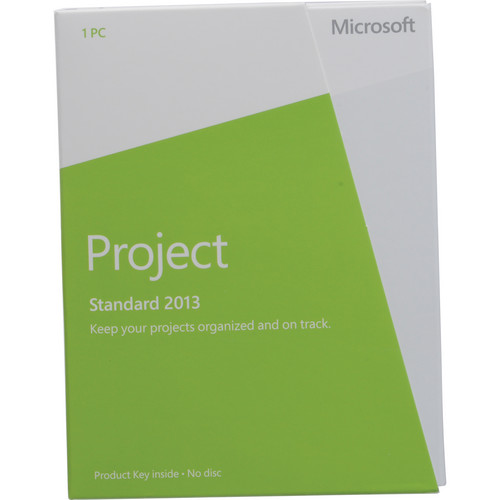 Microsoft Project Standard 2013 Software (Product Key)