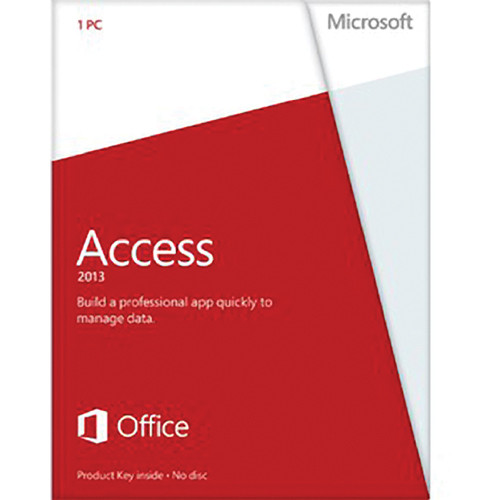 Microsoft Access 2013 Software (Product Key)
