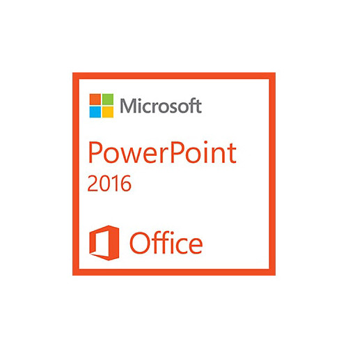 Microsoft PowerPoint 2016 (1 PC License, Electronic Download)