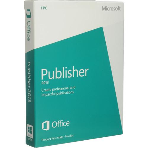 Microsoft Publisher 2013 Software (Product Key)