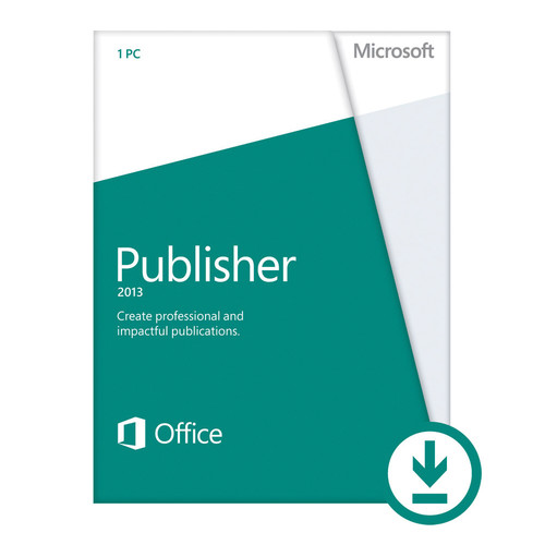 Microsoft Open License for Publisher 2013 (Download)