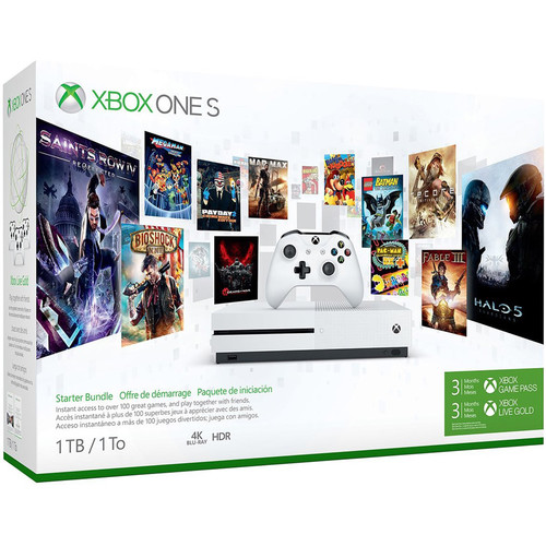 Microsoft Xbox One S Starter Bundle