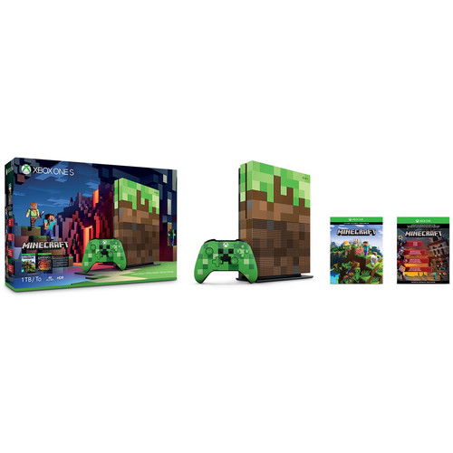 Microsoft Xbox One S Minecraft Limited Edition Bundle
