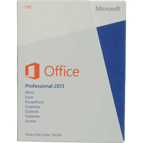 Microsoft Office Professional 2013 (Product Key)
