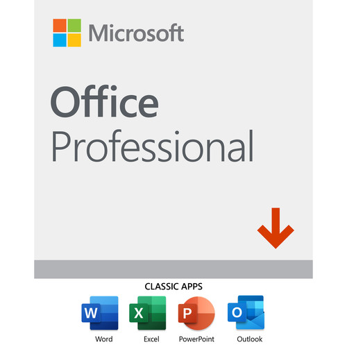 Microsoft Office Professional 2019 (1-User License, Download)