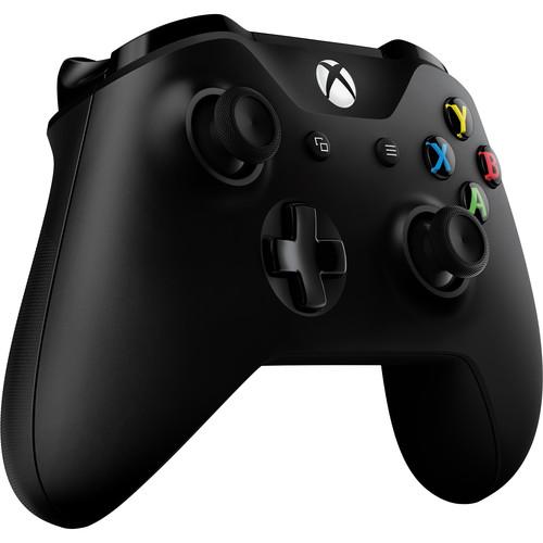 Microsoft Xbox One Wireless Controller (2016 Version, Black)