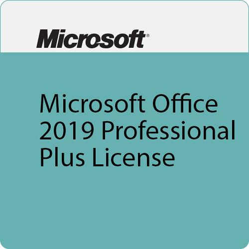 Microsoft Office 2019 Professional Plus License