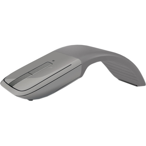 Microsoft Arc Touch Bluetooth Mouse (Gray, Blue Box)