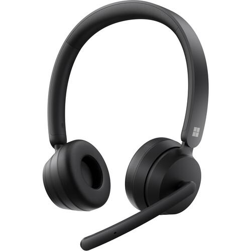 Microsoft Modern Wireless Bluetooth Headset (Black, Retail Packaging)