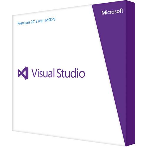 Microsoft Visual Studio Premium 2013 with MSDN