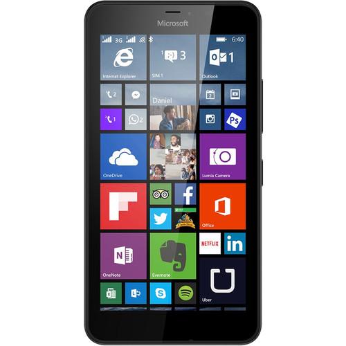 Microsoft Lumia 640 XL RM-1065 8GB Dual SIM Smartphone (Unlocked, Black)