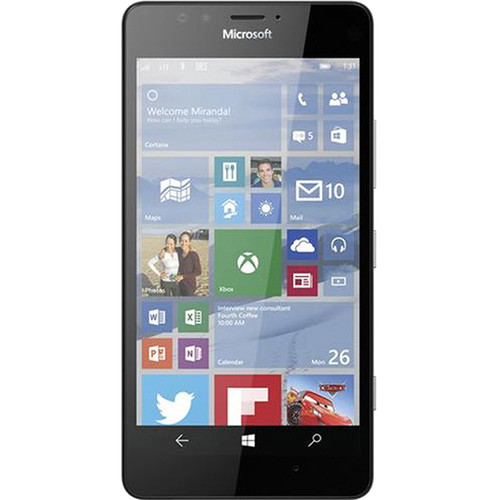 Microsoft Lumia 950 RM-1118 32GB Dual-SIM Smartphone (Unlocked, Black)