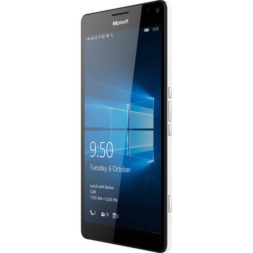 Microsoft Lumia 950 XL RM-1116 32GB Dual-SIM Smartphone (Unlocked, White)