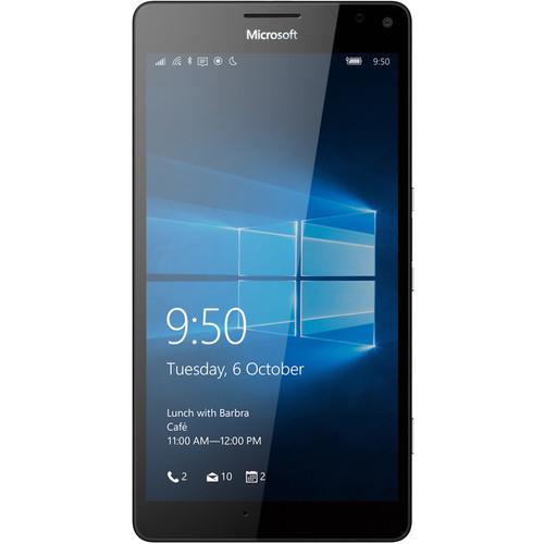 Microsoft Lumia 950 XL RM-1116 32GB Dual-SIM Smartphone (Unlocked, Black)