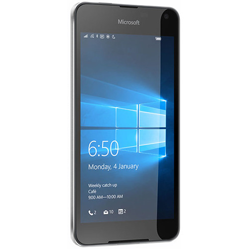 Microsoft Lumia 650 RM-1154 16GB Dual-SIM Smartphone (Unlocked, Black)