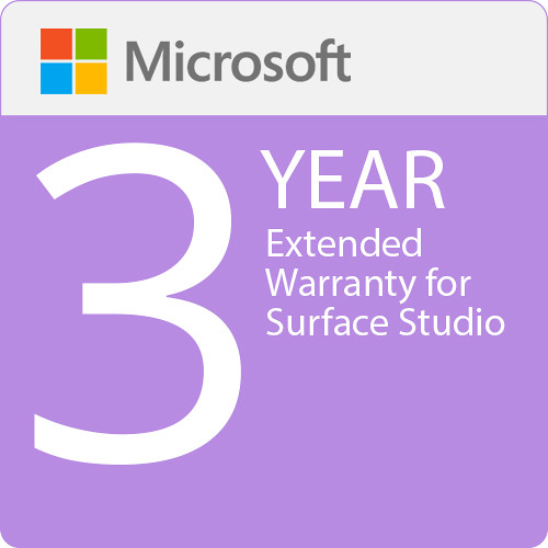 Microsoft Extended Warranty For Surface Studio 3Yr