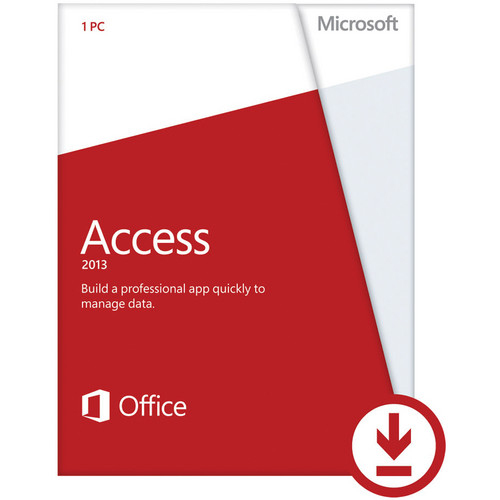Microsoft Access 2013 Software (Download)