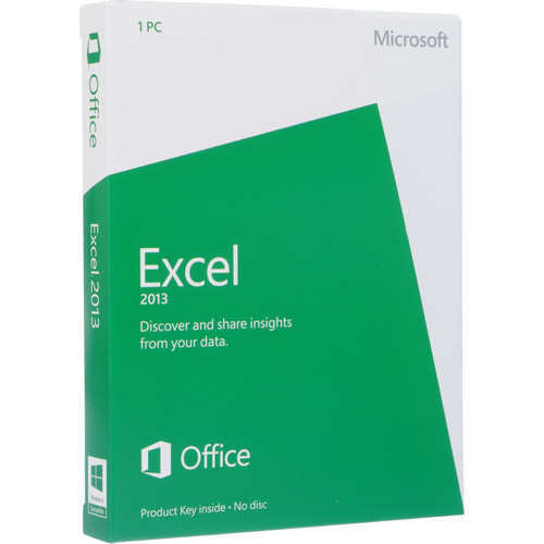 Microsoft Excel 2013 (Download)