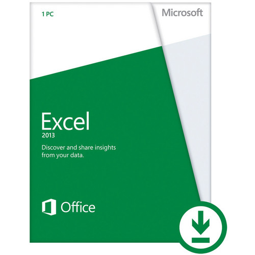 Microsoft Excel Home & Student 2013 (Electronic Download)
