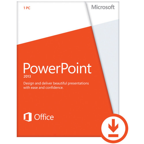 Microsoft PowerPoint Home & Student 2013 (Electronic Download)