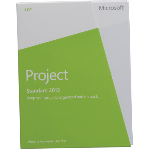 Microsoft Project Standard 2013 Software (Download)