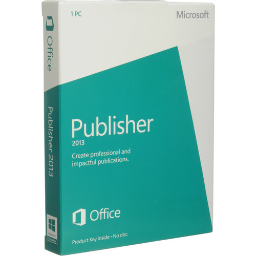 Microsoft Publisher 2013 Software (Download)