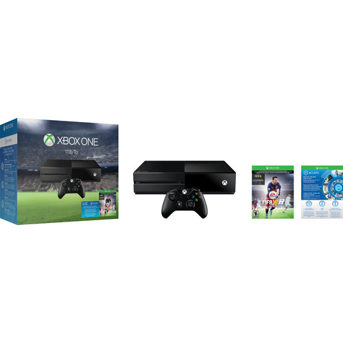 Microsoft Xbox One FIFA 16 Bundle with Star Wars Battlefront Kit (Kinect Not Included)