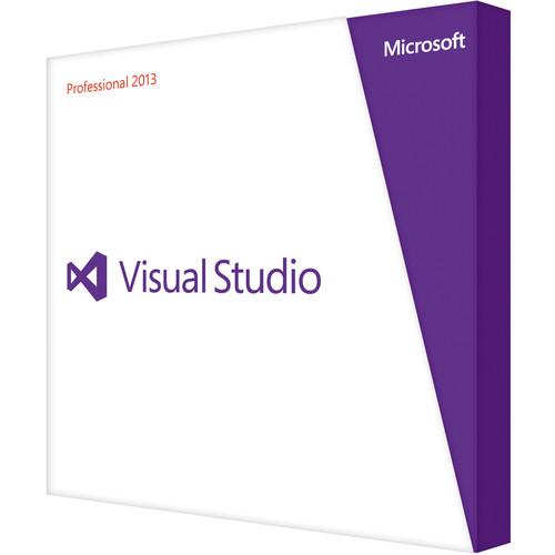 Microsoft Visual Studio Professional 2013 (Upgrade Version)