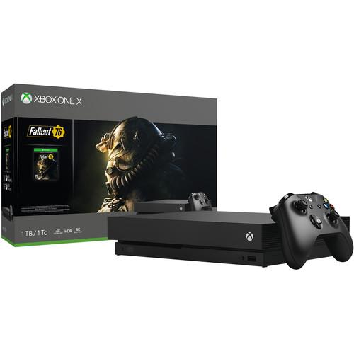 Microsoft Xbox One X Fallout 76 Bundle