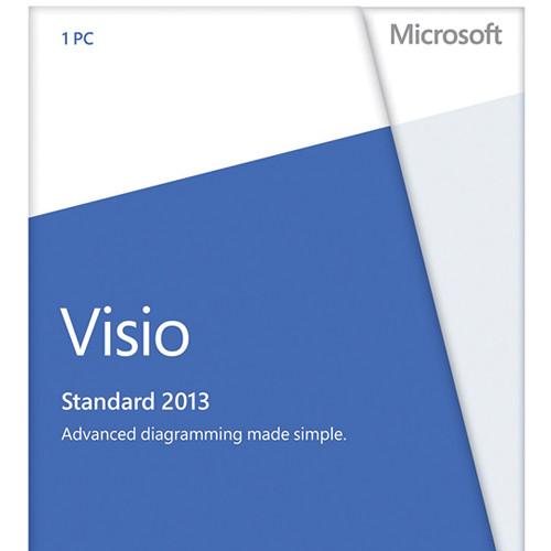 Microsoft Visio Standard 2013 DVD