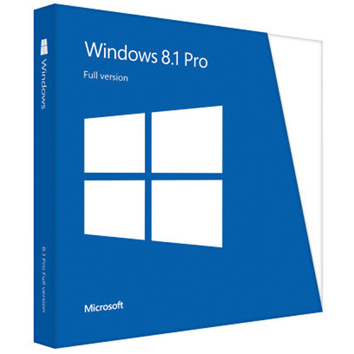 Microsoft Windows 8.1 Pro OEM System Builder DVD (64-bit)