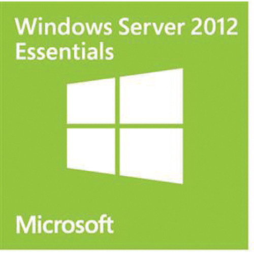 Microsoft Windows Server 2012 R2 Essentials 64-bit License (English, 25-User, OEM)