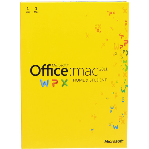 Microsoft Office for Mac Home and Student Edition 2011 (Electronic Download)