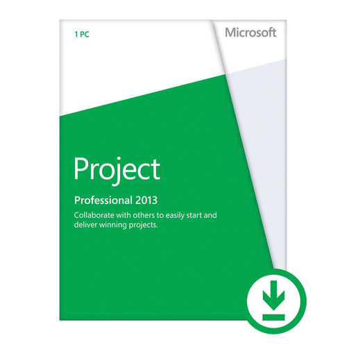 Microsoft Project Professional 2013 (Open License Download)