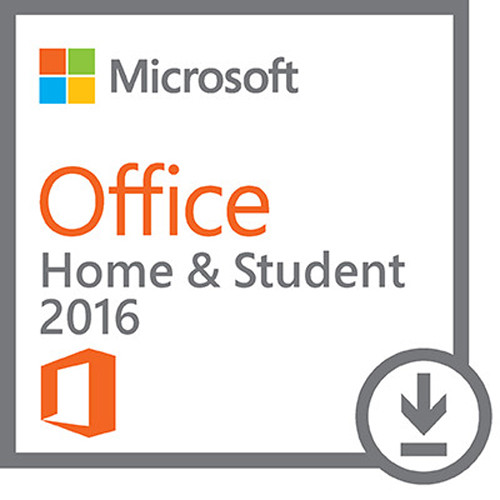 Microsoft Office Home & Student 2016 for Windows Kit (1-User License, Download)