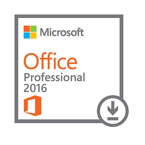 Microsoft Office Professional 2016 for Windows Kit (1-User License, Download)