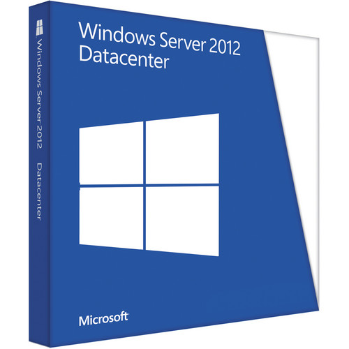 Microsoft Windows Server 2012 Datacenter (64-bit, 2-User OEM License, DVD)
